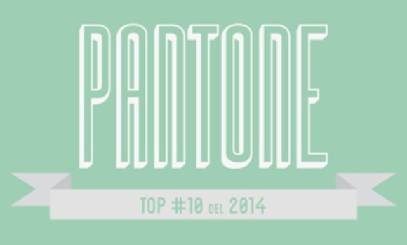 Los colores de 2014 según Pantone®