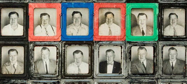 """Los misteriosos """"selfies"""" de mediados del siglo pasado"""