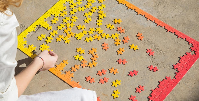 Gradient Puzzle, te romperá la cabeza esta primavera